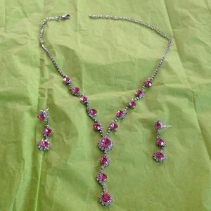 Jewelry - Rosy pink necklace